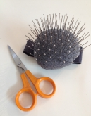 Scissors and pins. Dara Ford Bespoke Tailoring