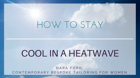 keep cool at the office in a heatwave
