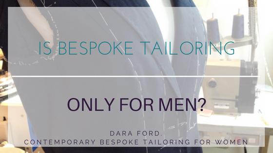 bespoke tailoring for women