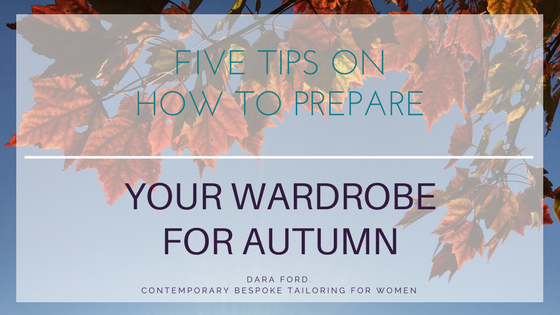 Get your wardrobe ready for autumn, tips for preparing your autumn clothes